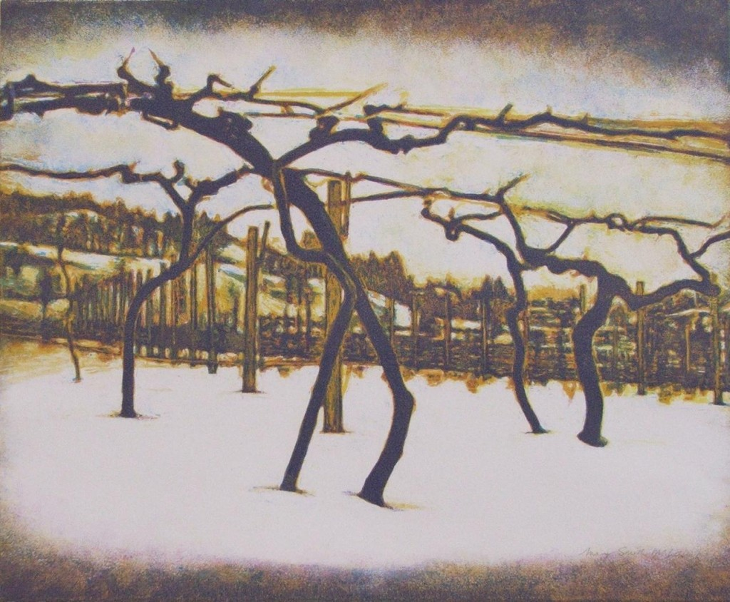 "Mary Smith-McCulloch ""Winter Vineyard"""